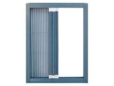 折叠式隐形纱窗